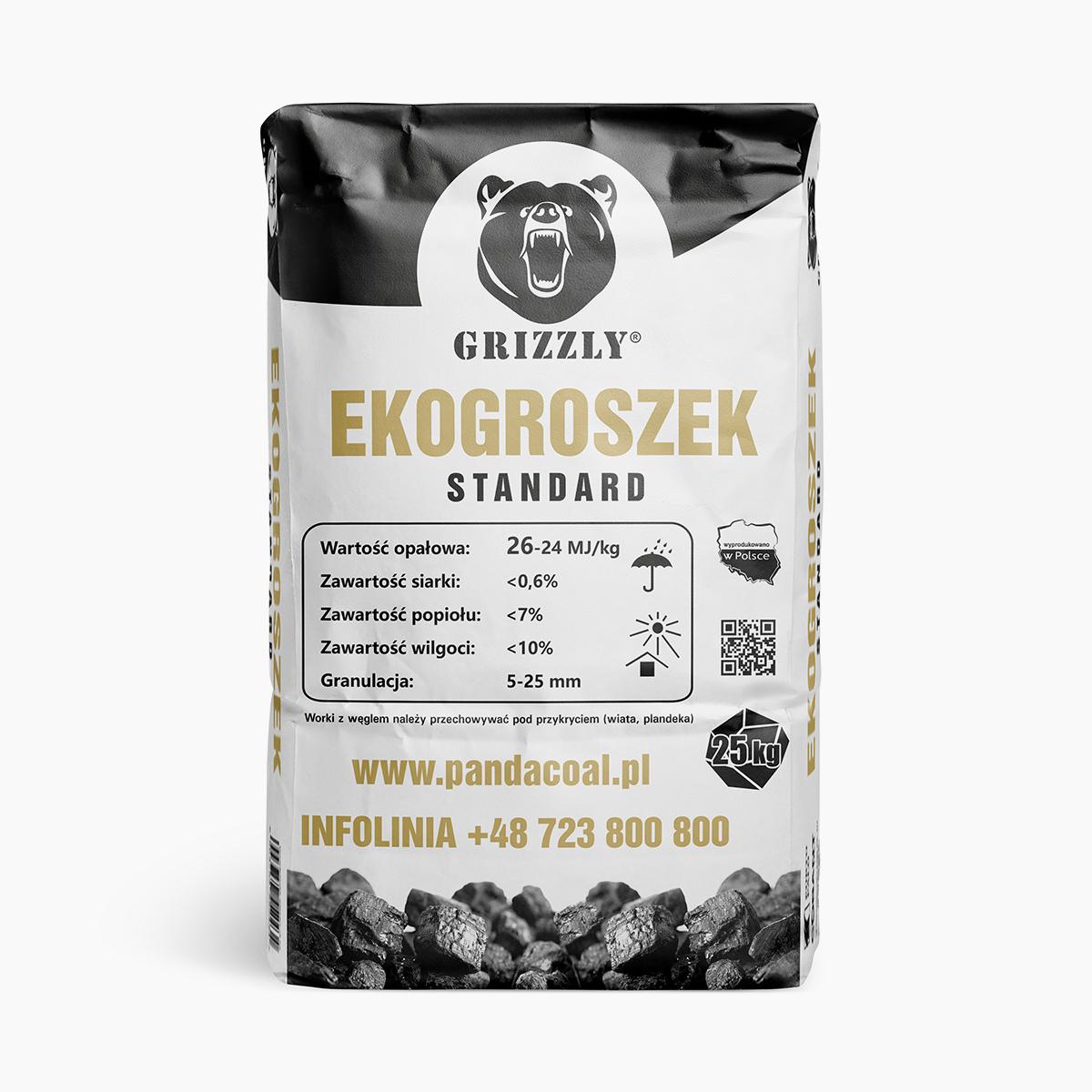 Ekogroszek Grizzly Standard | Przyjazny Węgiel - sklep online z ekologicznym opałem