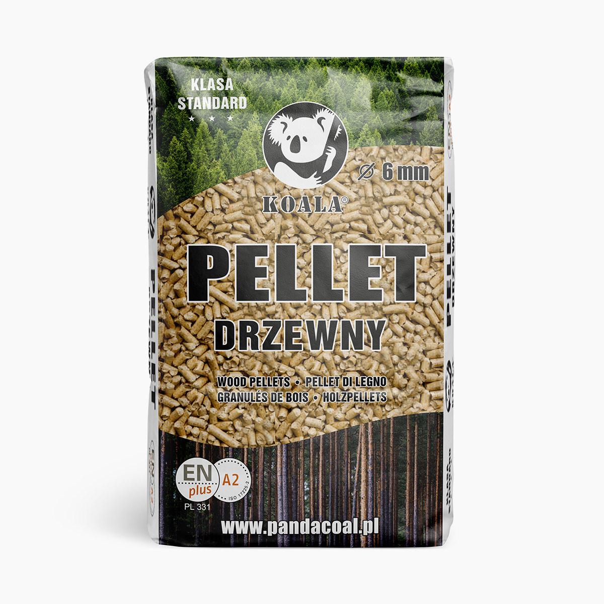 Pellet drzewny Koala Standard | Przyjazny Węgiel - sklep online z ekologicznym opałem